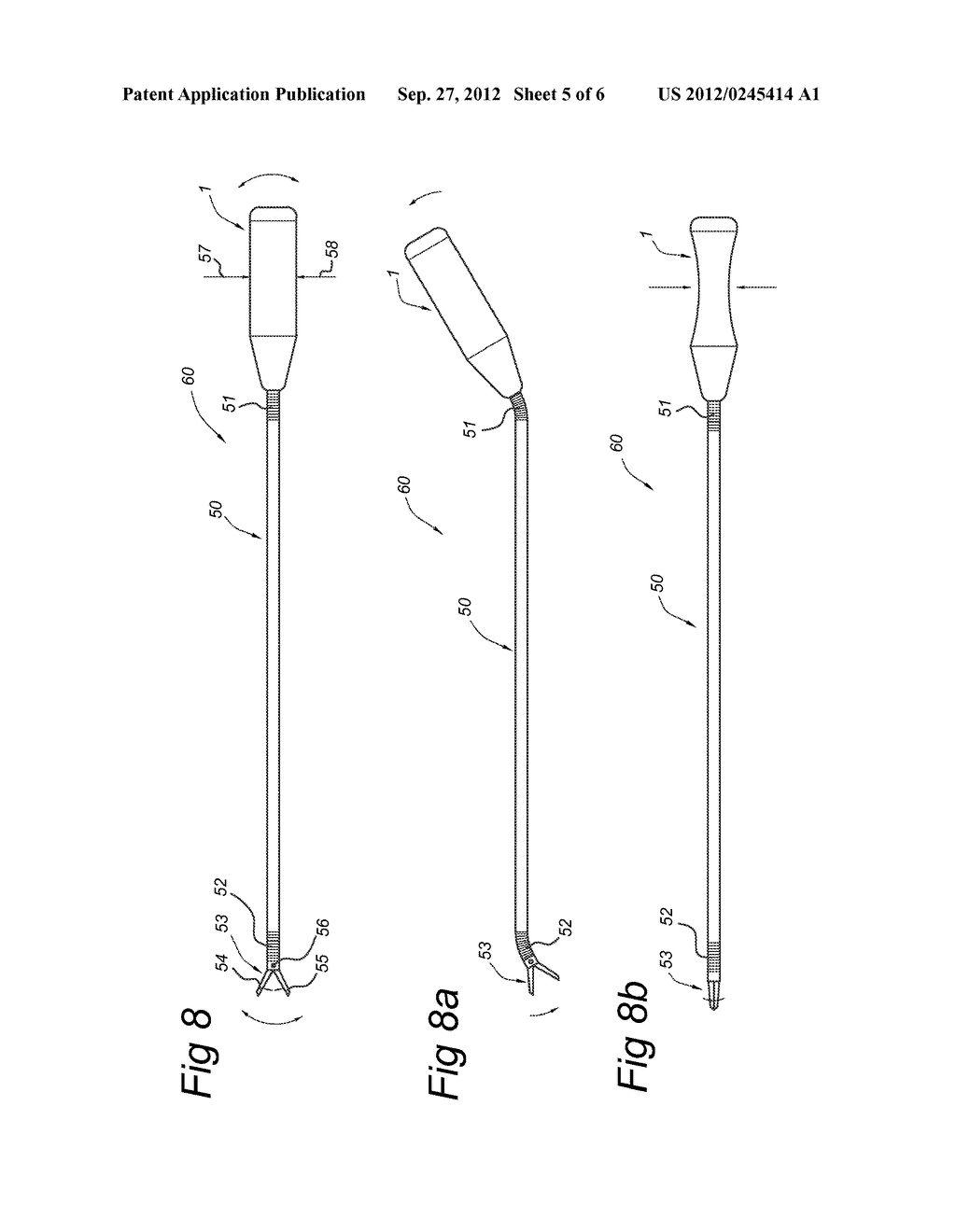 HANDLE FOR CONTROLLING INSTRUMENTS, ENDOSCOPIC INSTRUMENT COMPRISING SUCH     A HANDLE, AND AN ASSEMBLY - diagram, schematic, and image 06