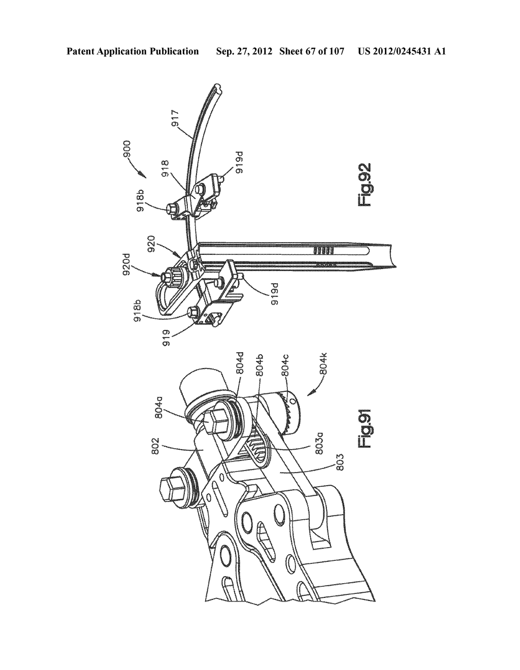 Spinal Access Retractor - diagram, schematic, and image 68