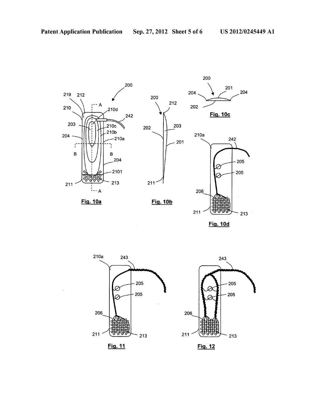 APPARATUS FOR STIMULATING AND/OR MONITORING ACTIVITY IN TISSUE - diagram, schematic, and image 06