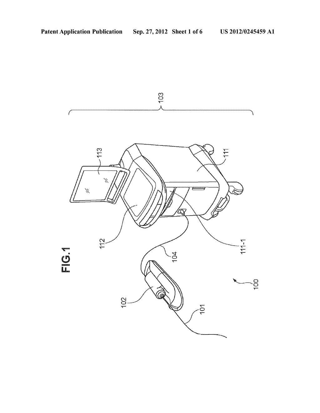 MOTOR DRIVE APPARATUS AND OPTICAL IMAGING APPARATUS FOR DIAGNOSIS - diagram, schematic, and image 02