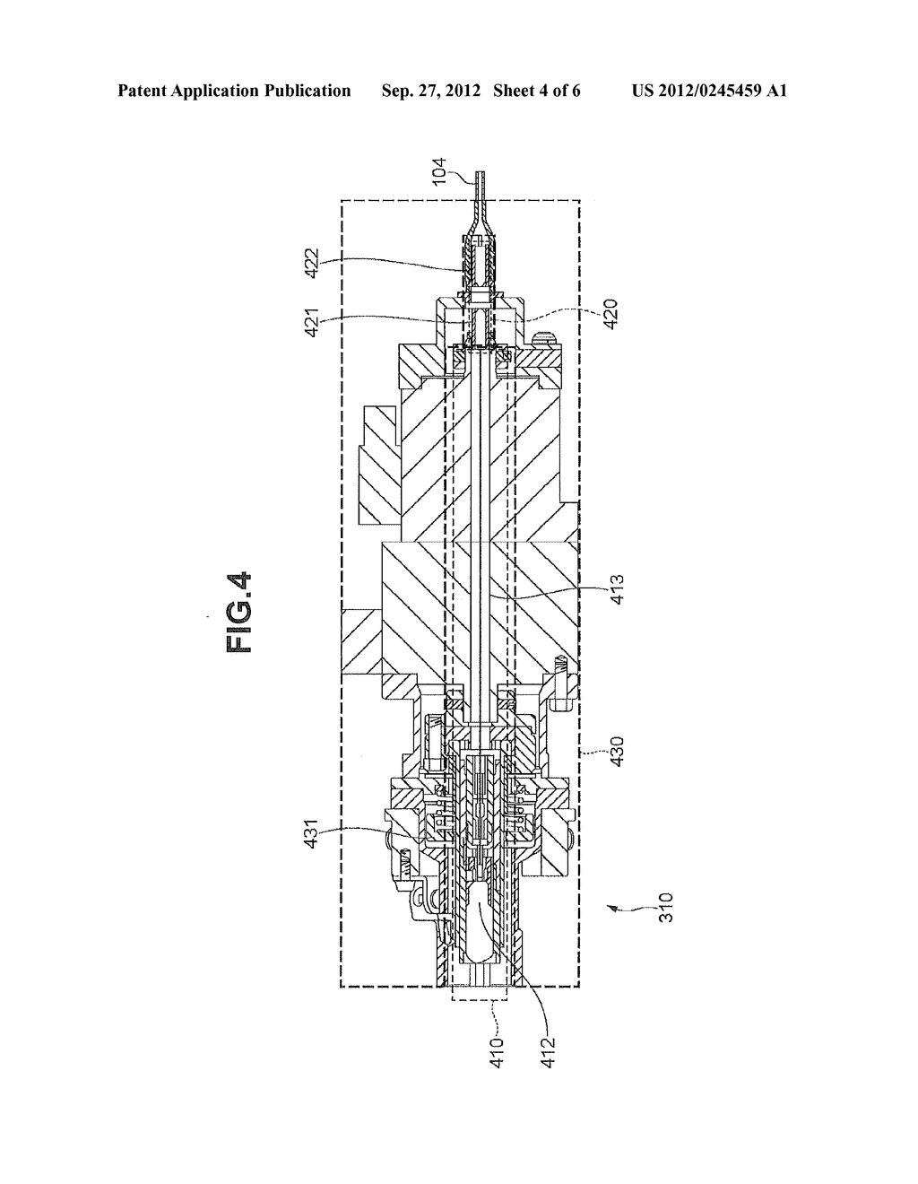 MOTOR DRIVE APPARATUS AND OPTICAL IMAGING APPARATUS FOR DIAGNOSIS - diagram, schematic, and image 05
