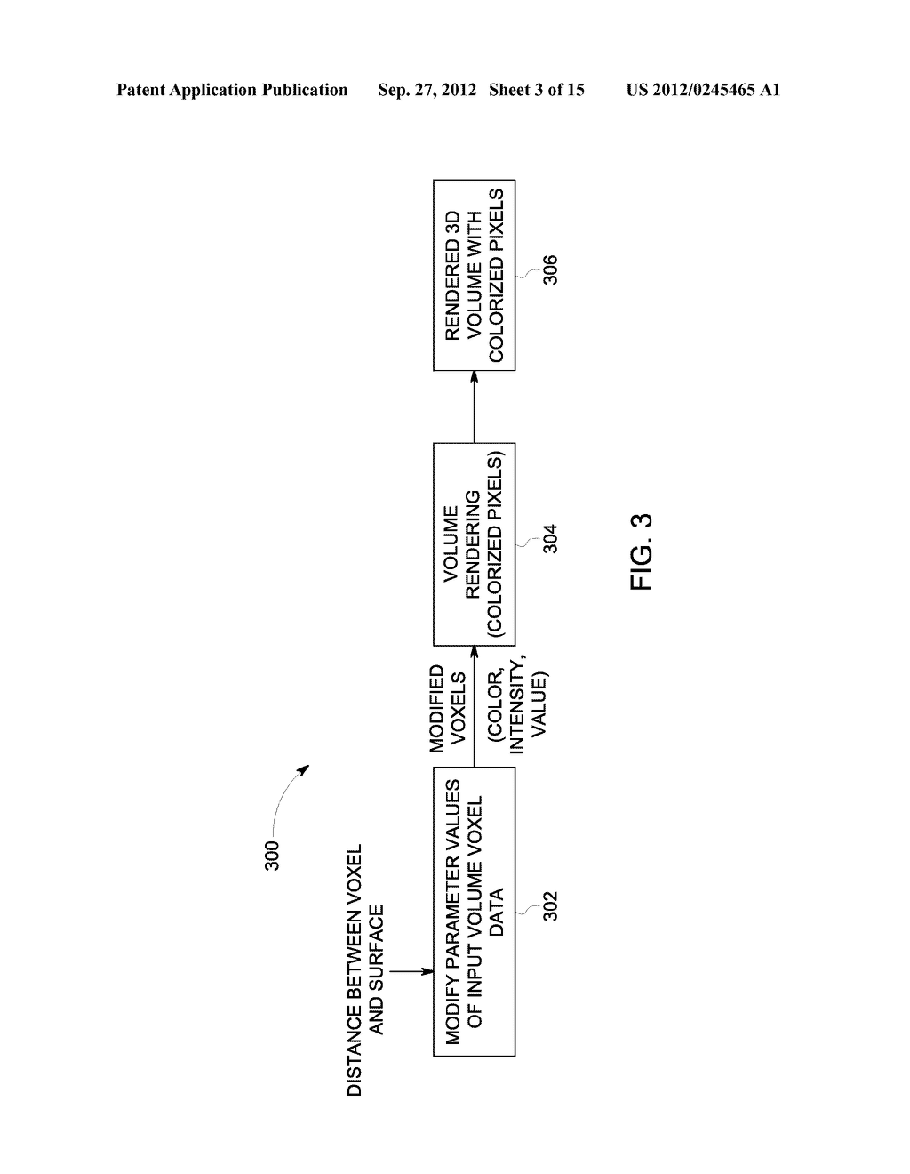 METHOD AND SYSTEM FOR DISPLAYING INTERSECTION INFORMATION ON A VOLUMETRIC     ULTRASOUND IMAGE - diagram, schematic, and image 04