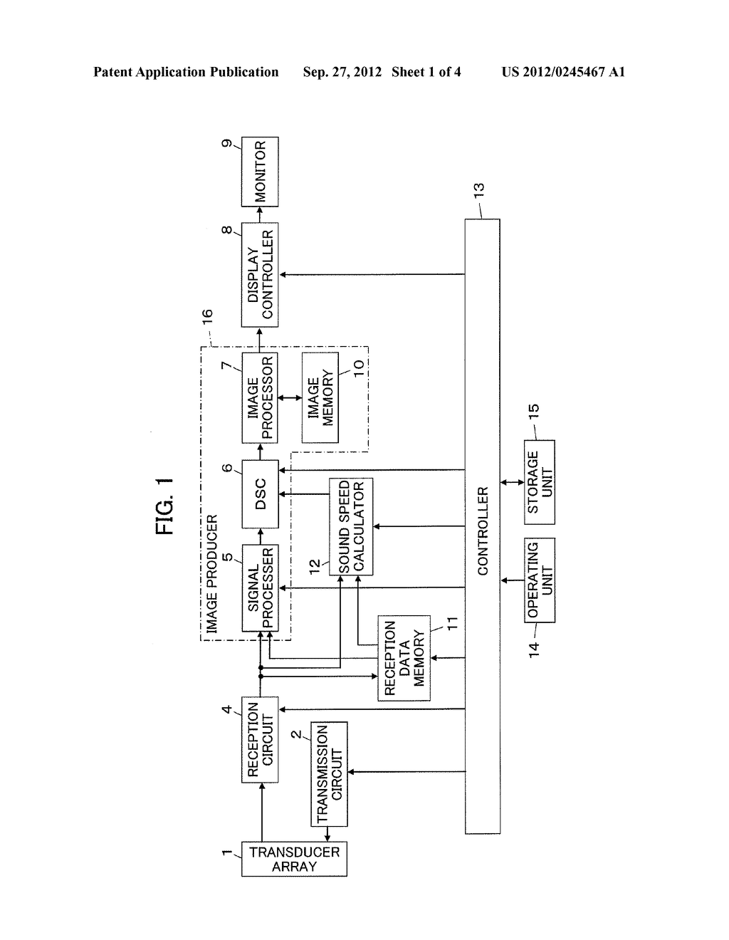 ULTRASOUND DIAGNOSTIC APPARATUS AND ULTRASOUND IMAGE PRODUCING METHOD - diagram, schematic, and image 02