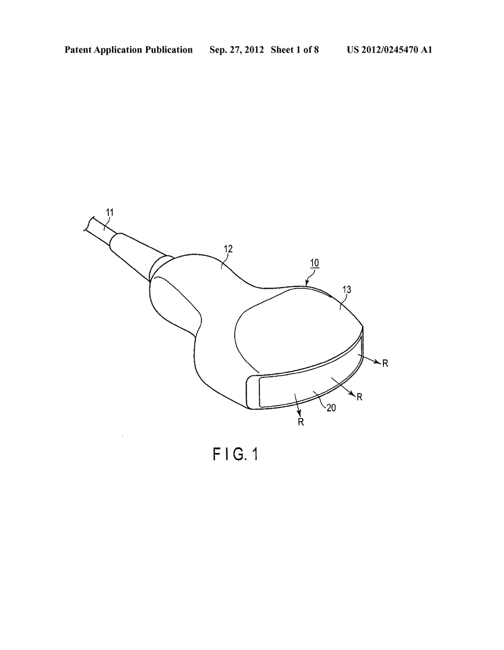 ULTRASONIC PROBE AND METHOD FOR MANUFACTURING ULTRASONIC PROBE - diagram, schematic, and image 02