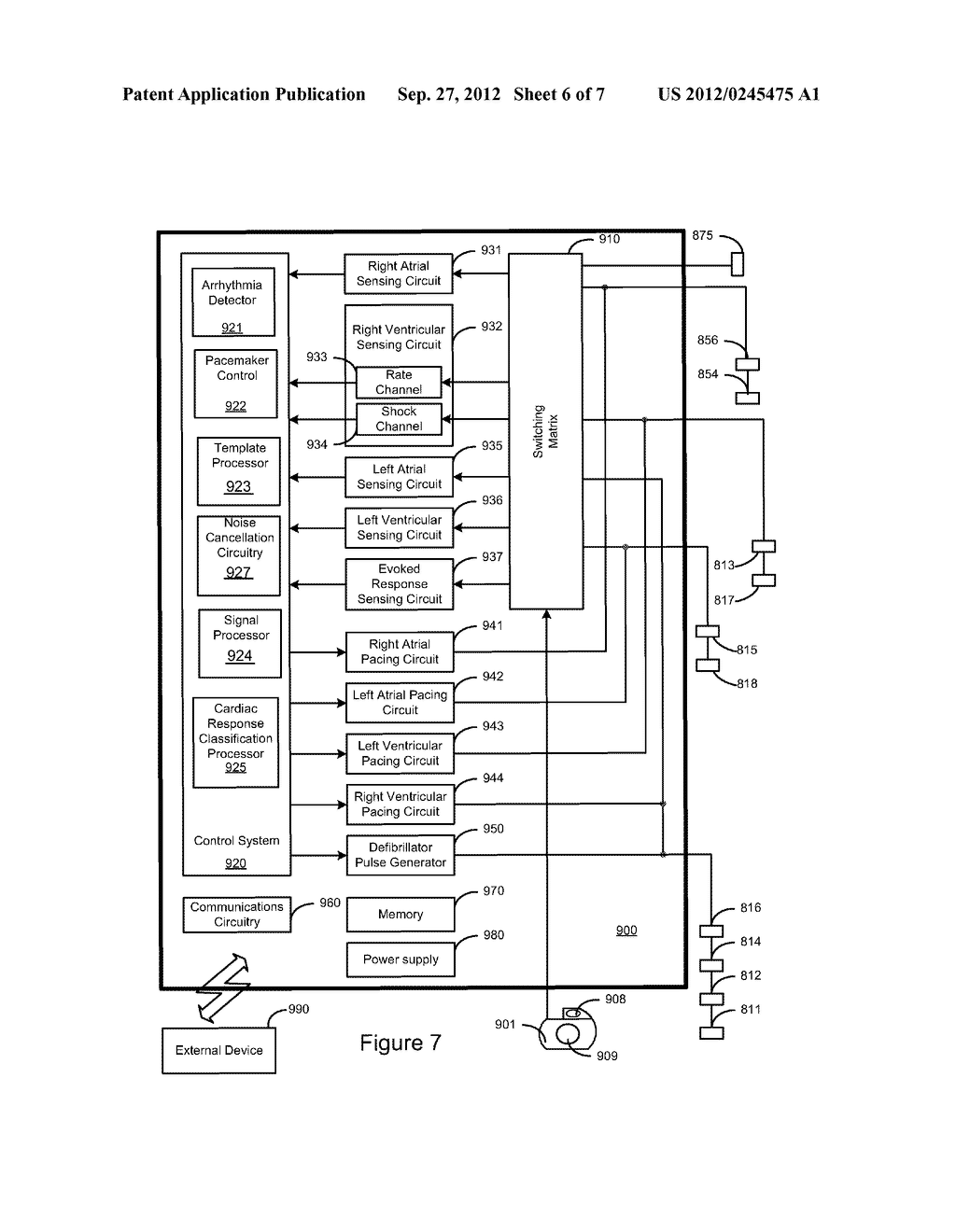 Bio-Impedance Sensor and Sensing Method - diagram, schematic, and image 07