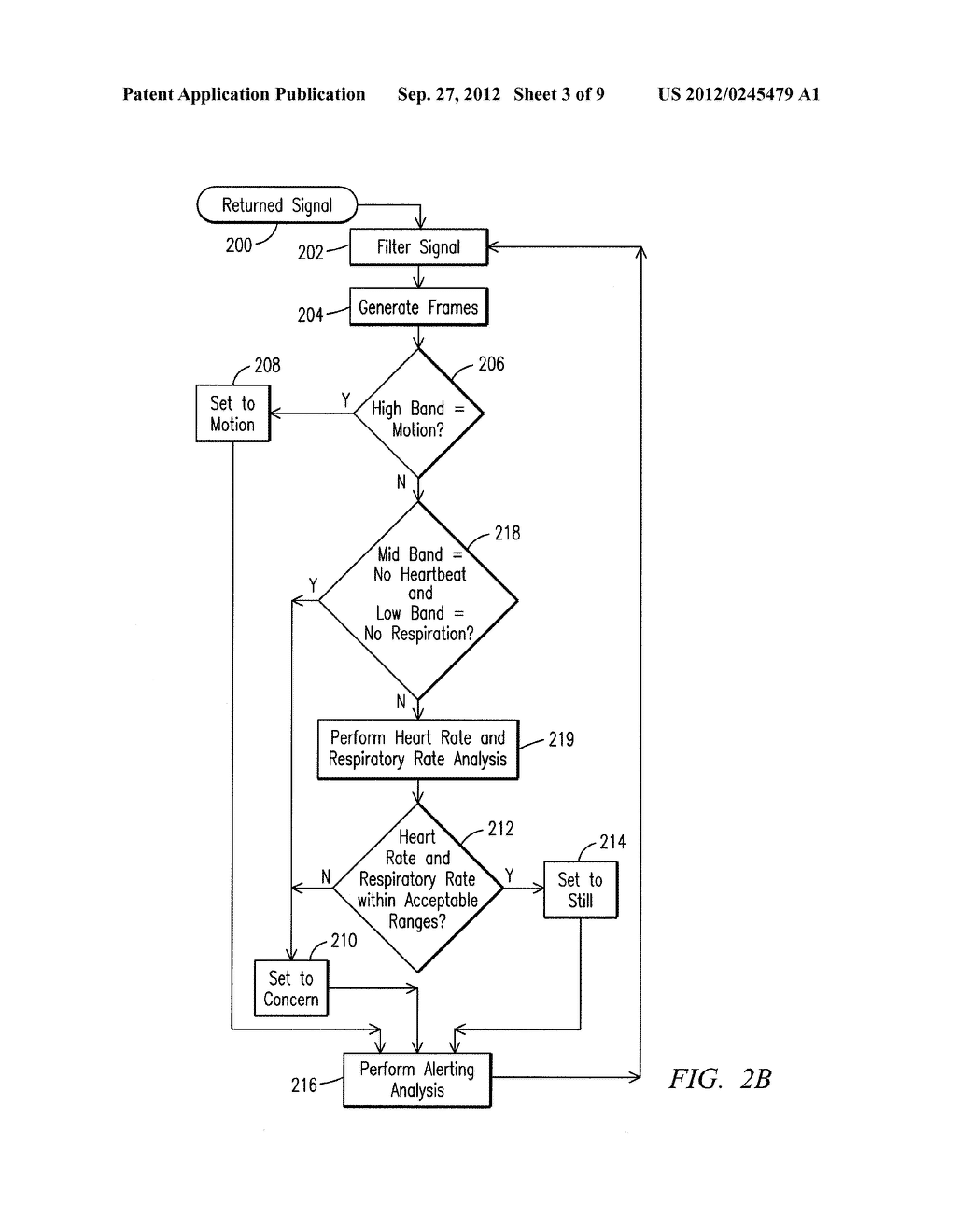 Physiology Monitoring and Alerting System and Process - diagram, schematic, and image 04
