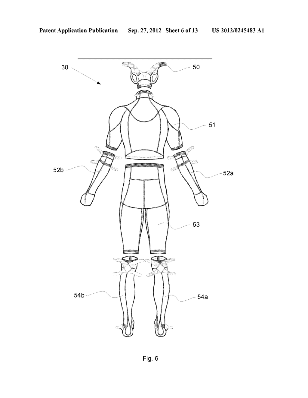 System And Garment For Muscle Relaxation Of A Spastic Muscle - diagram, schematic, and image 07