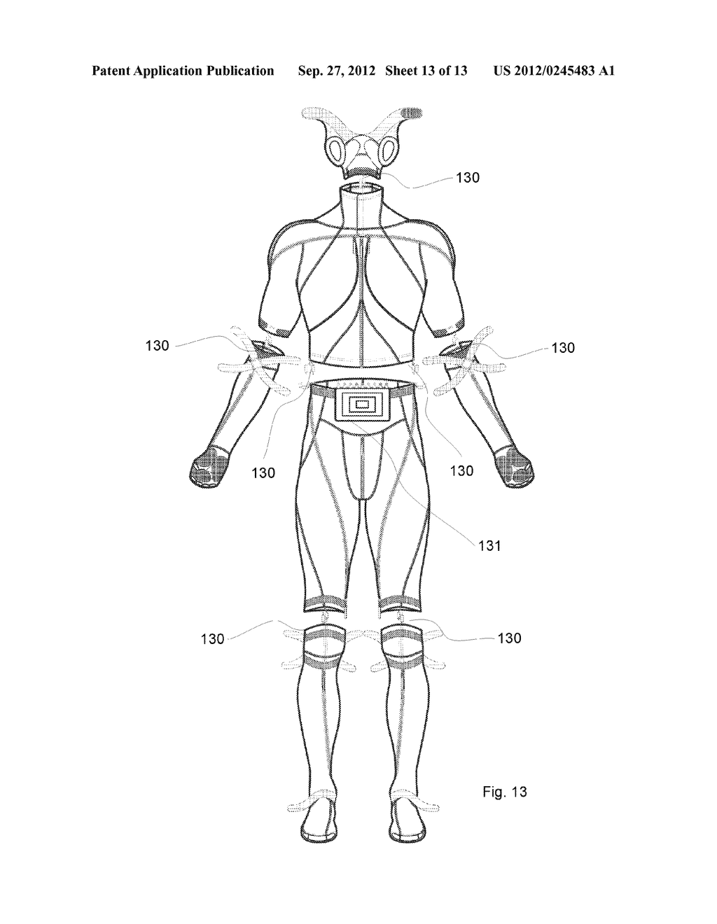 System And Garment For Muscle Relaxation Of A Spastic Muscle - diagram, schematic, and image 14