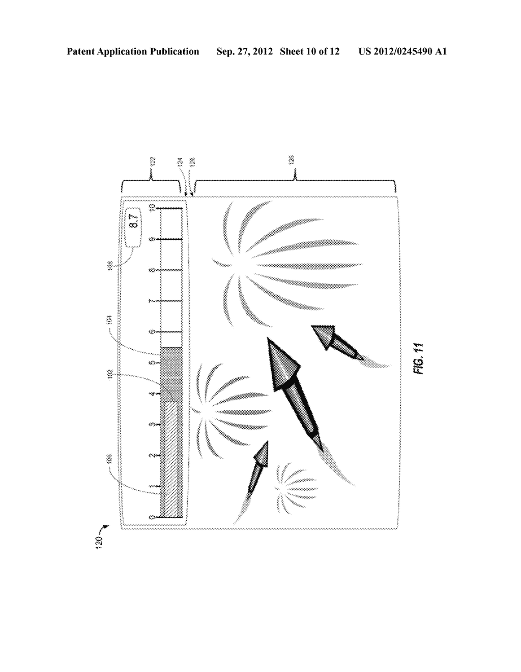 APPARATUS AND METHOD OF DETECTING MOVEMENT OF OBJECTS WITHIN THE ABDOMINAL     AND/OR PELVIC REGION - diagram, schematic, and image 11
