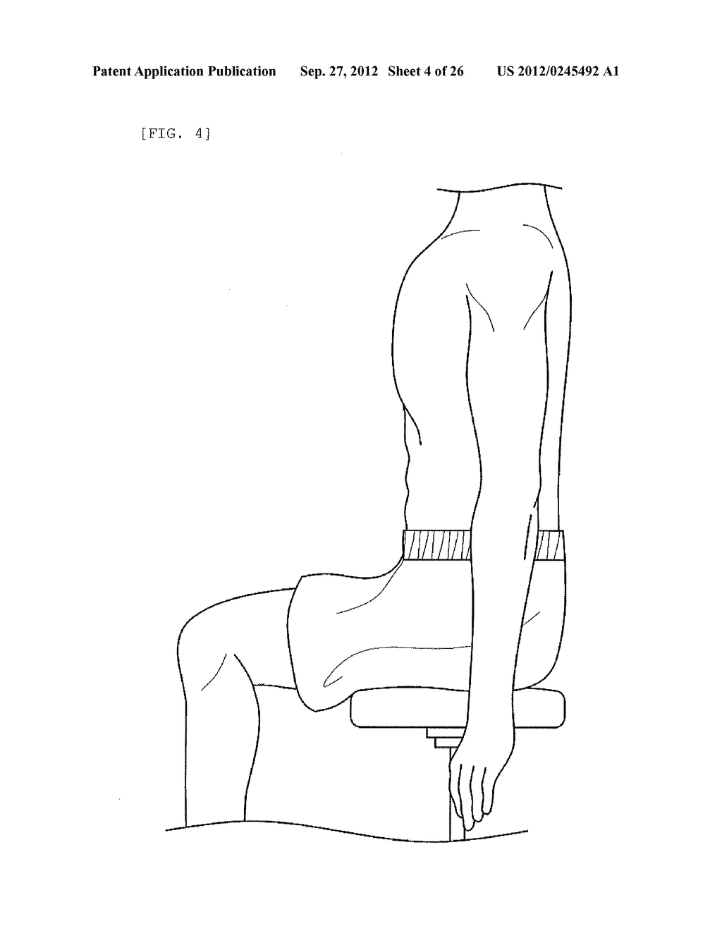REHABILITATION DEVICE FOR PEOPLE WITH PARALYSIS AND OPERATION METHOD     THEREOF - diagram, schematic, and image 05