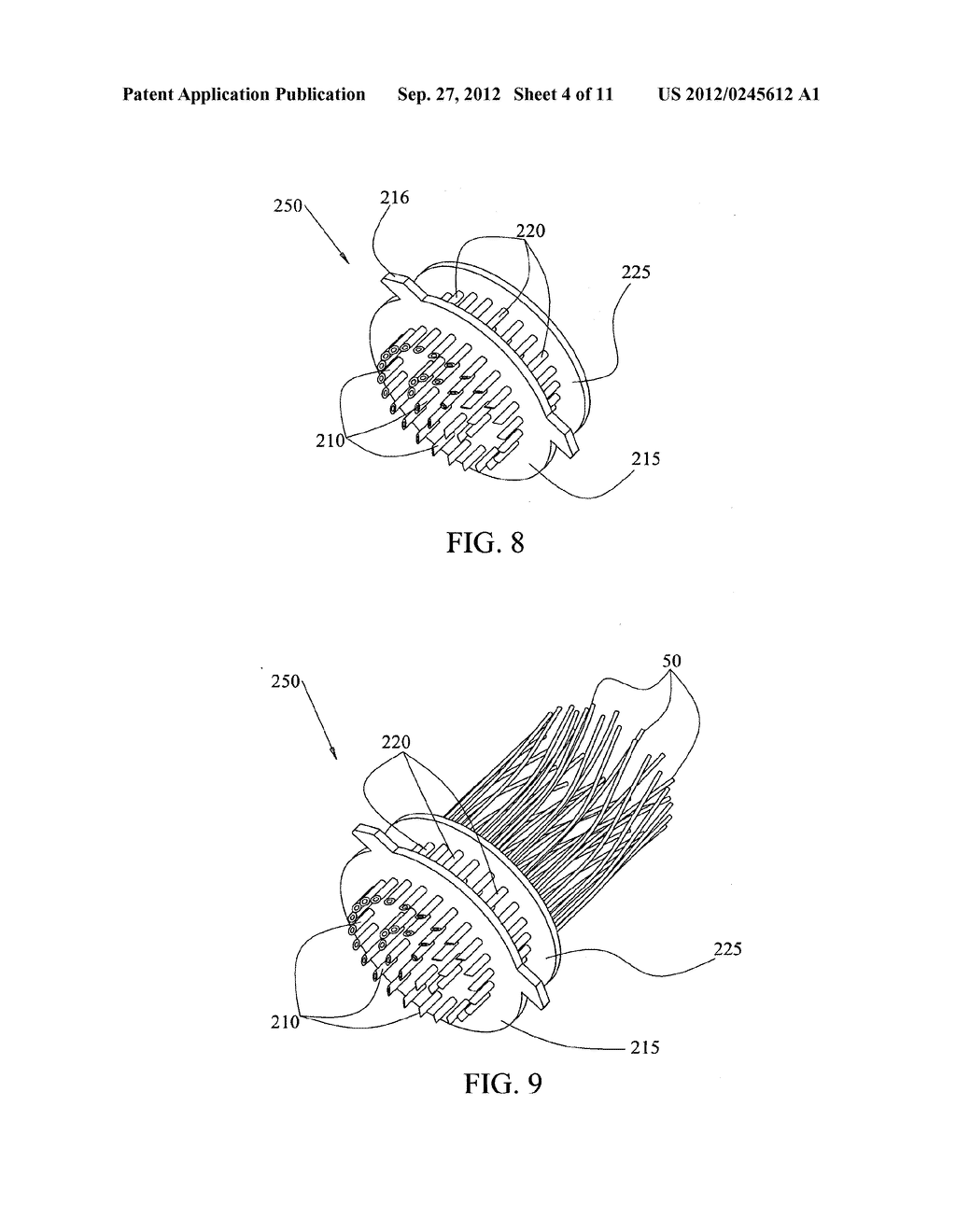 HAIR IMPLANT ANCHORS AND SYSTEMS AND METHODS FOR USE THEREOF - diagram, schematic, and image 05