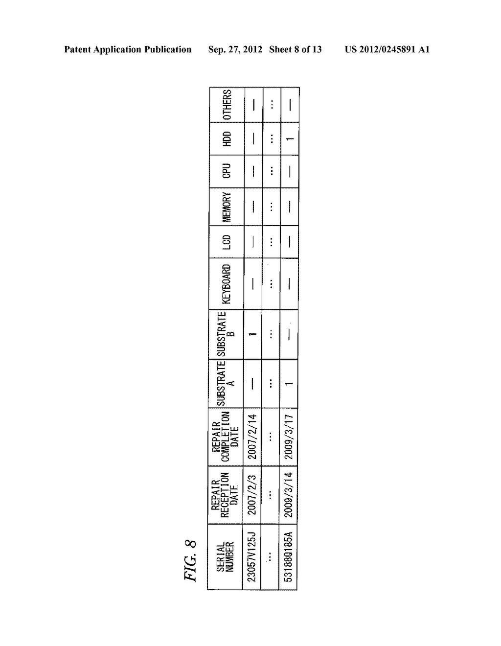ELECTRONIC APPARATUS SYSTEM FOR CALCULATING FAILURE PROBABILITY OF     ELECTRONIC APPARATUS - diagram, schematic, and image 09