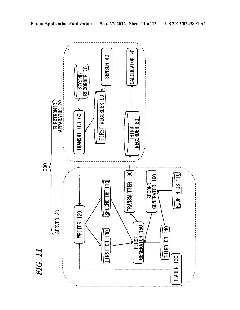 ELECTRONIC APPARATUS SYSTEM FOR CALCULATING FAILURE PROBABILITY OF     ELECTRONIC APPARATUS - diagram, schematic, and image 12