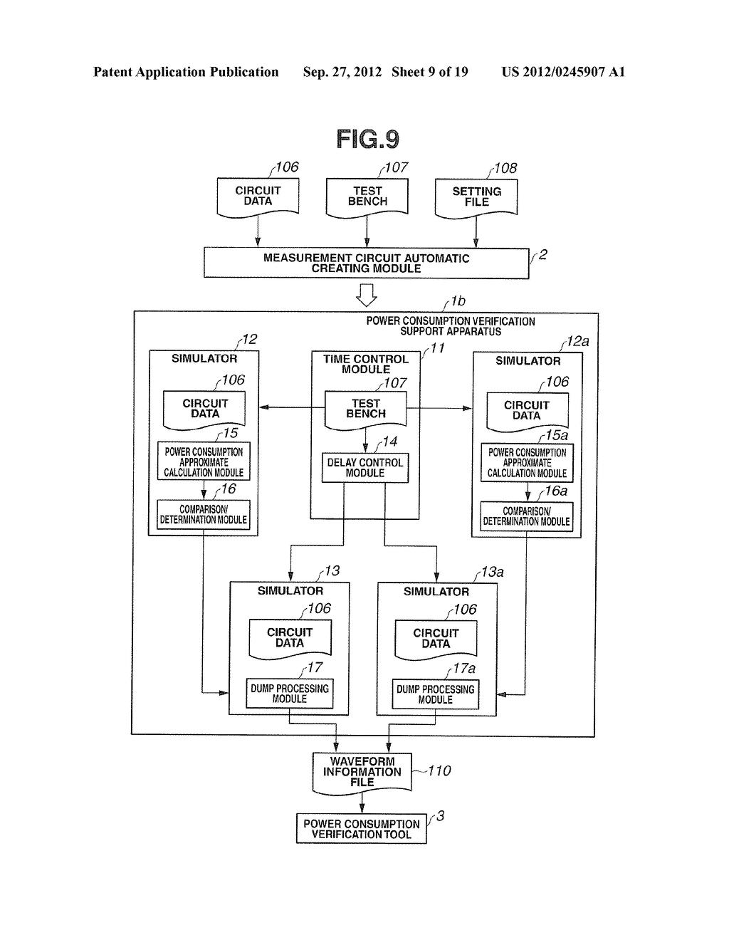 POWER CONSUMPTION VERIFICATION SUPPORT APPARATUS AND POWER CONSUMPTION     VERIFICATION SUPPORT METHOD - diagram, schematic, and image 10