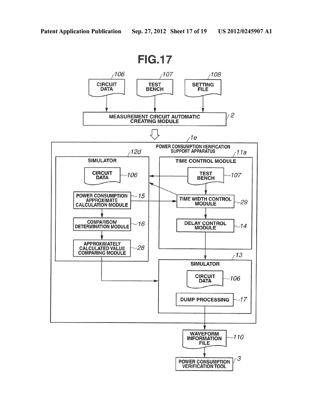 POWER CONSUMPTION VERIFICATION SUPPORT APPARATUS AND POWER CONSUMPTION     VERIFICATION SUPPORT METHOD - diagram, schematic, and image 18