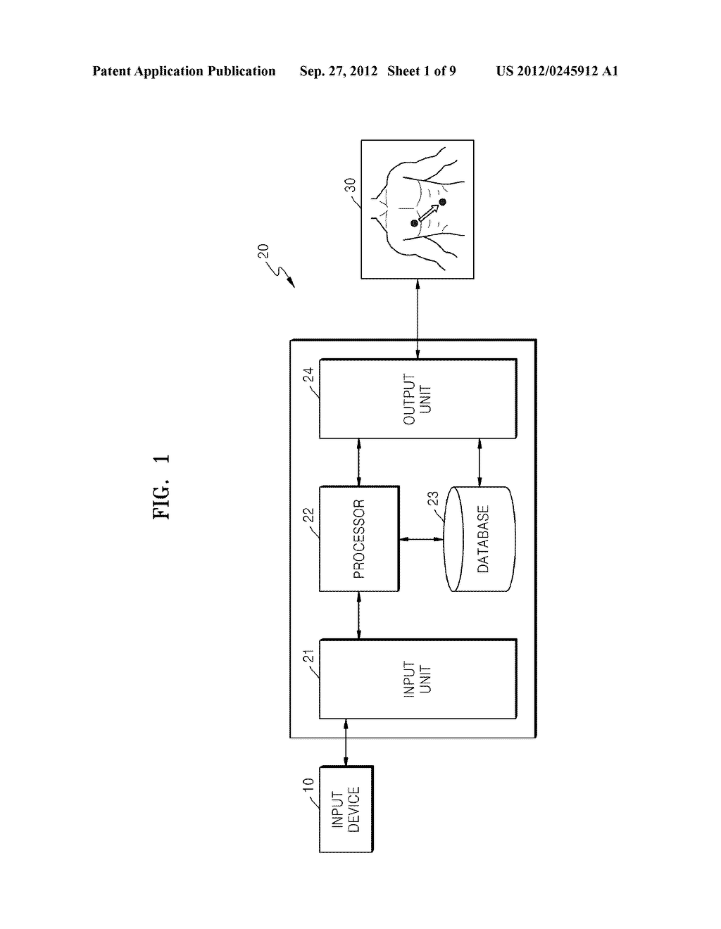 METHOD OF AND APPARATUS FOR DETERMINING OPTIMAL PARAMETERS FOR MEASURING     BIOLOGICAL SIGNALS BASED ON VIRTUAL BODY MODEL - diagram, schematic, and image 02