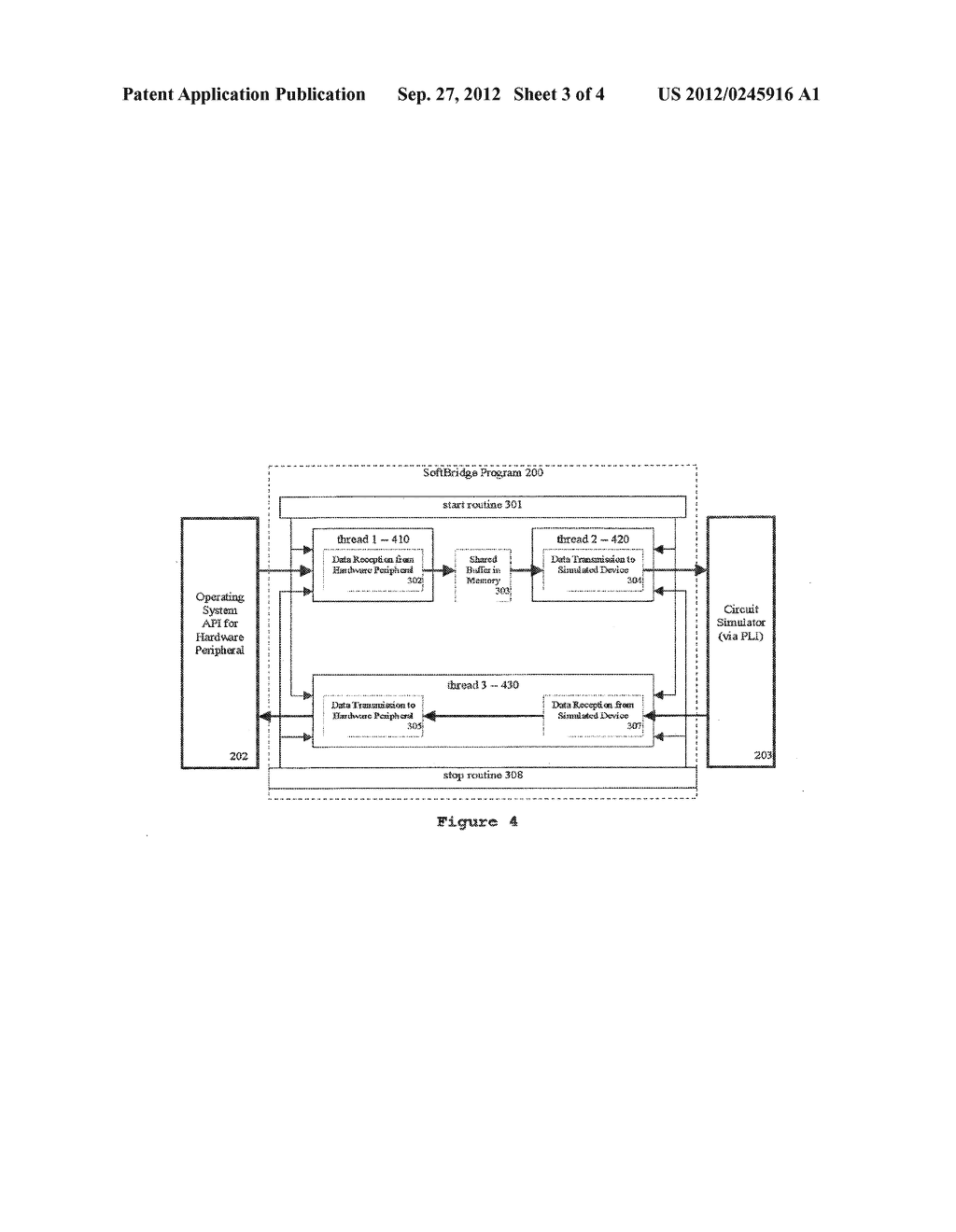 CONVEYING DATA FROM A HARDWARE DEVICE TO A CIRCUIT SIMULATION - diagram, schematic, and image 04