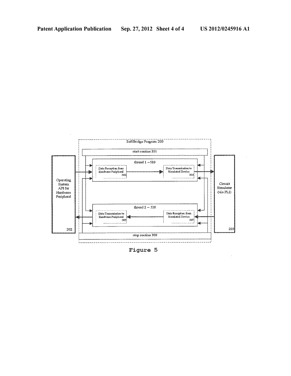 CONVEYING DATA FROM A HARDWARE DEVICE TO A CIRCUIT SIMULATION - diagram, schematic, and image 05