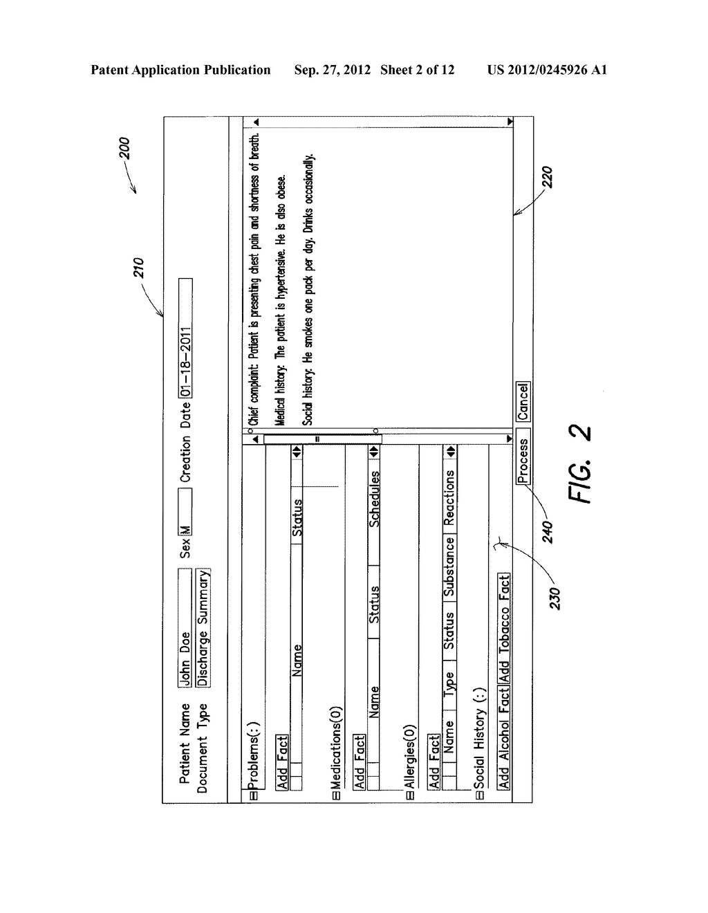 METHODS AND APPARATUS FOR FORMATTING TEXT FOR CLINICAL FACT EXTRACTION - diagram, schematic, and image 03