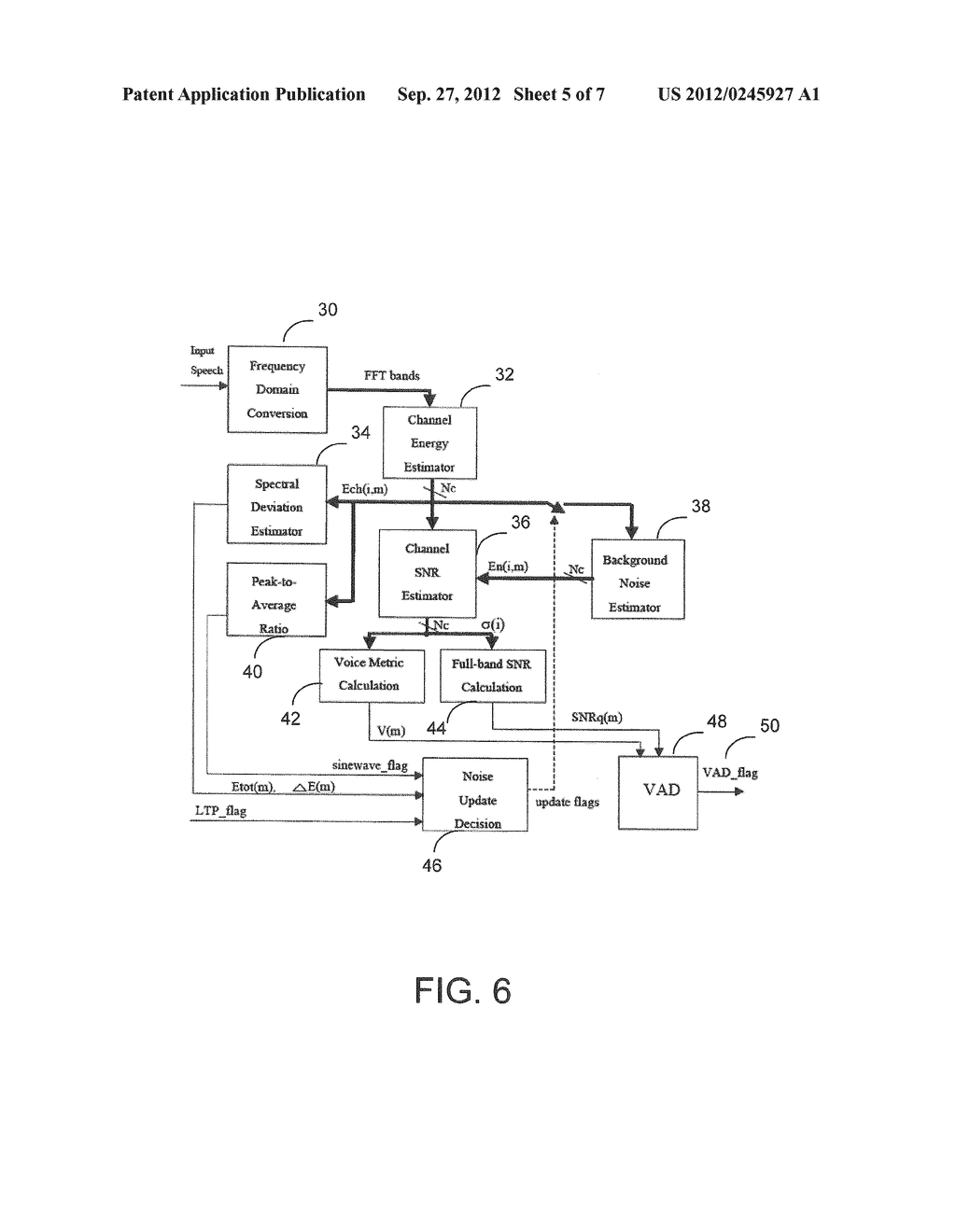SYSTEM AND METHOD FOR MONAURAL AUDIO PROCESSING BASED PRESERVING SPEECH     INFORMATION - diagram, schematic, and image 06