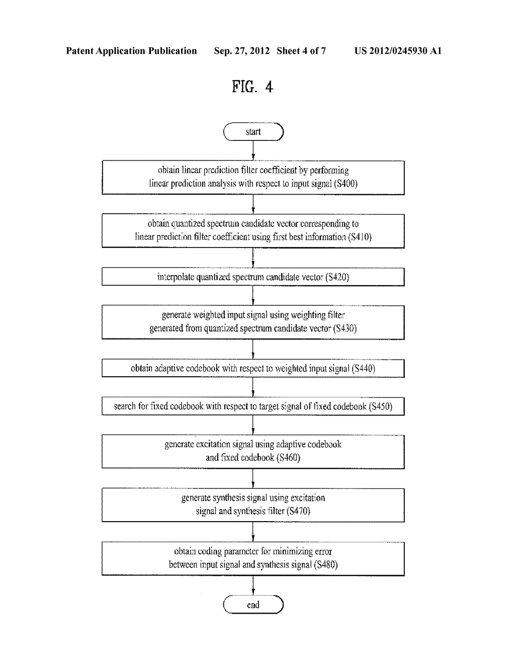 METHOD AND APPARATUS FOR ENCODING A SPEECH SIGNAL - diagram, schematic, and image 05