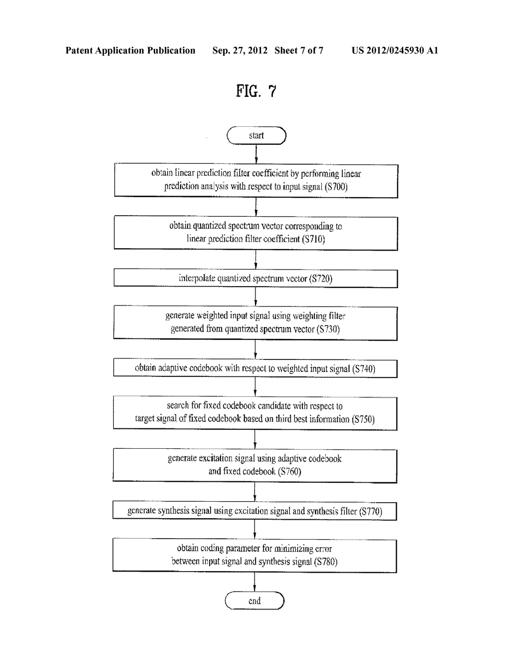 METHOD AND APPARATUS FOR ENCODING A SPEECH SIGNAL - diagram, schematic, and image 08