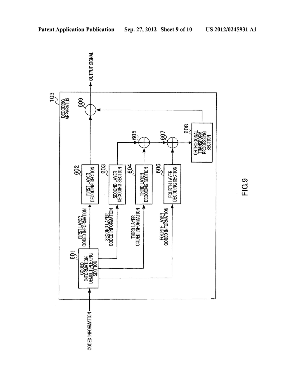 ENCODING DEVICE, DECODING DEVICE, AND METHODS THEREFOR - diagram, schematic, and image 10