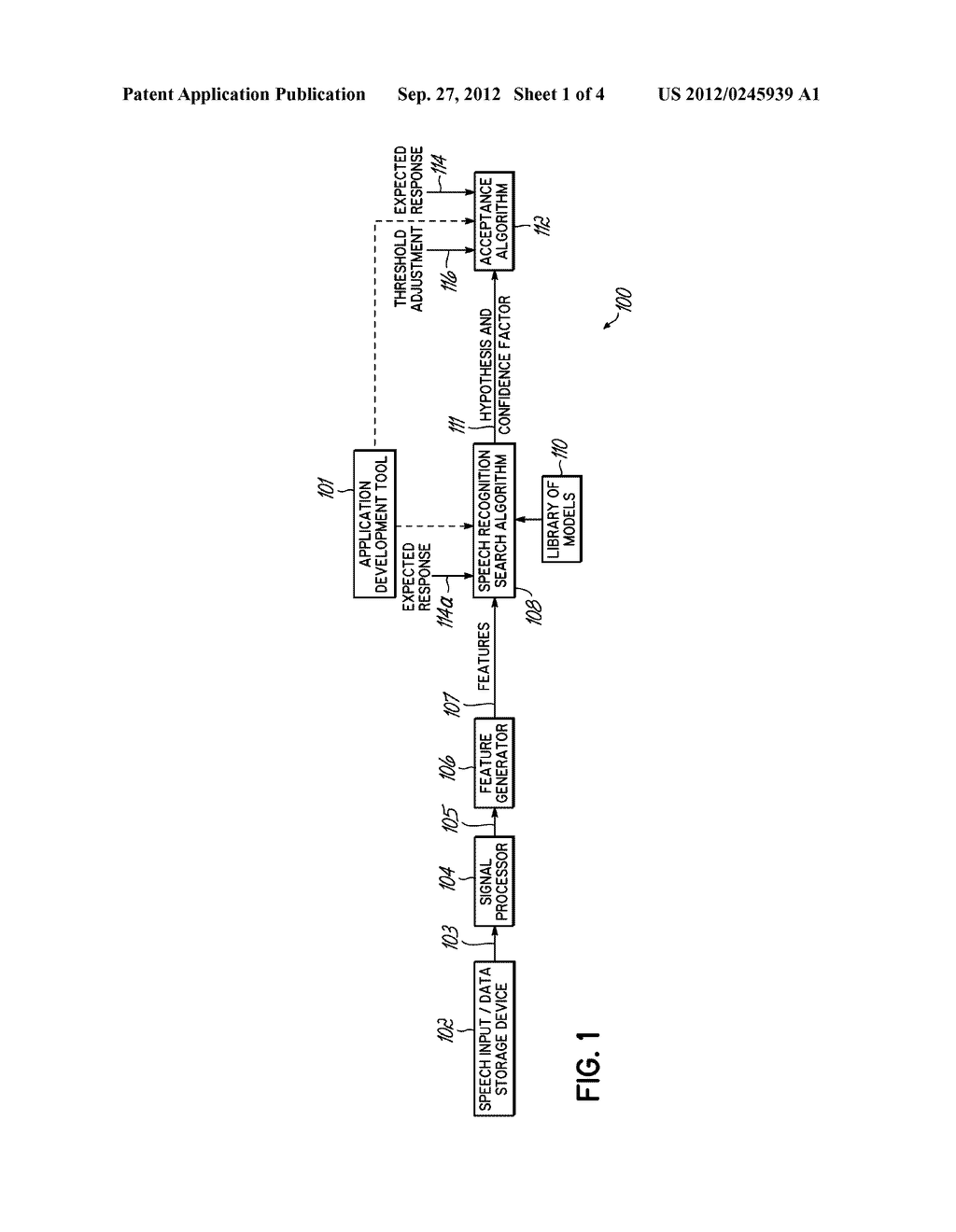 METHOD AND SYSTEM FOR CONSIDERING INFORMATION ABOUT AN EXPECTED RESPONSE     WHEN PERFORMING SPEECH RECOGNITION - diagram, schematic, and image 02