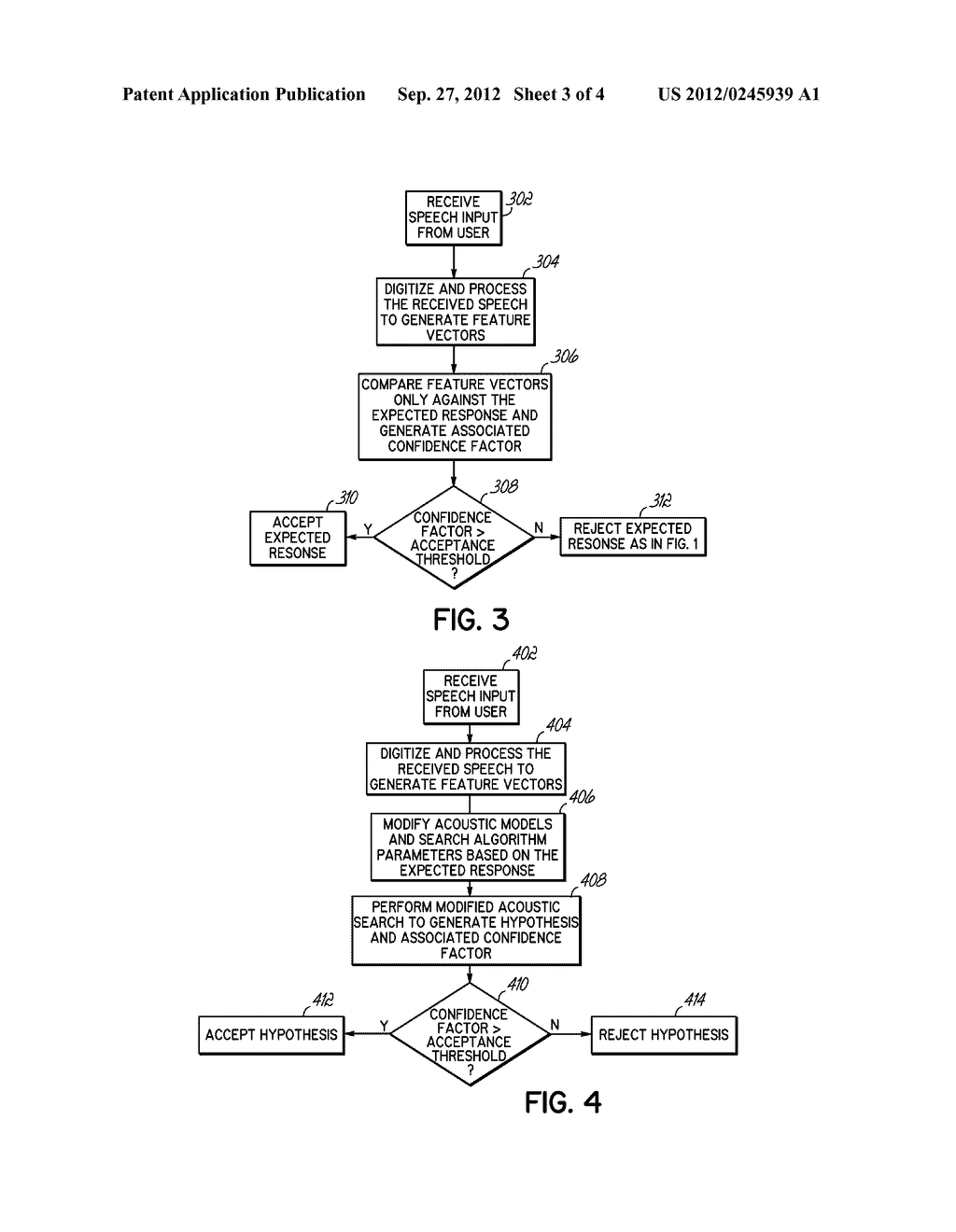 METHOD AND SYSTEM FOR CONSIDERING INFORMATION ABOUT AN EXPECTED RESPONSE     WHEN PERFORMING SPEECH RECOGNITION - diagram, schematic, and image 04