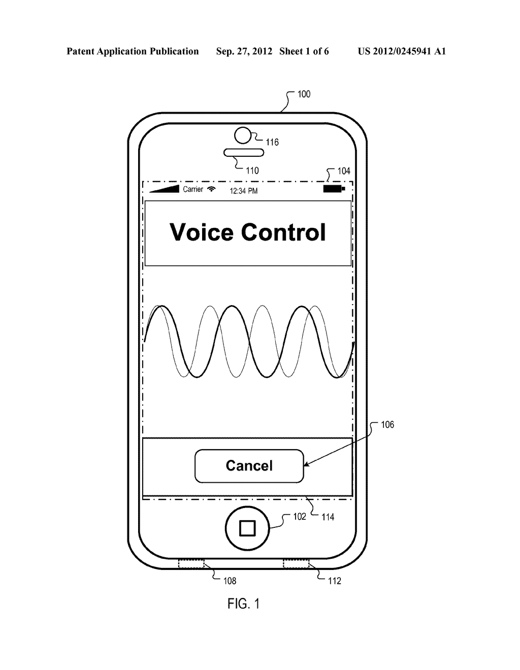 Device Access Using Voice Authentication - diagram, schematic, and image 02