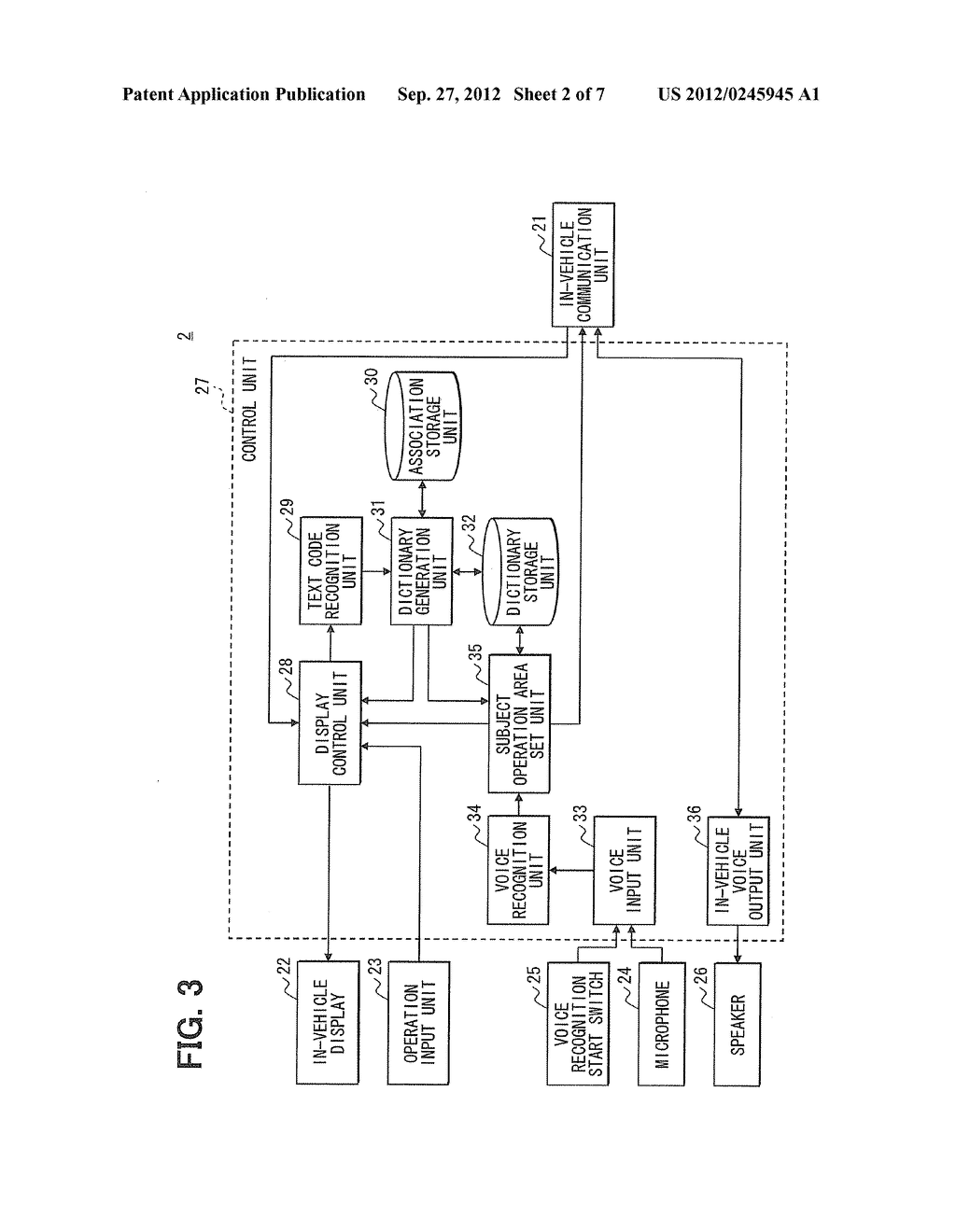 IN-VEHICLE APPARATUS AND INFORMATION DISPLAY SYSTEM - diagram, schematic, and image 03