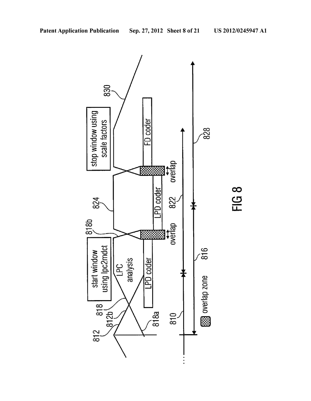 MULTI-MODE AUDIO SIGNAL DECODER, MULTI-MODE AUDIO SIGNAL ENCODER, METHODS     AND COMPUTER PROGRAM USING A LINEAR-PREDICTION-CODING BASED NOISE SHAPING - diagram, schematic, and image 09