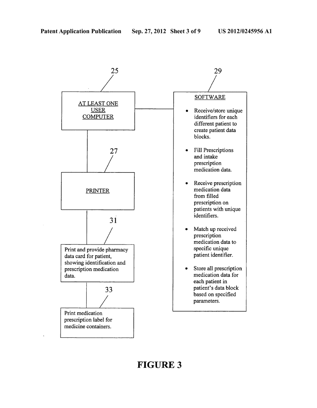Pharmacy-based data transfer methodology - diagram, schematic, and image 04