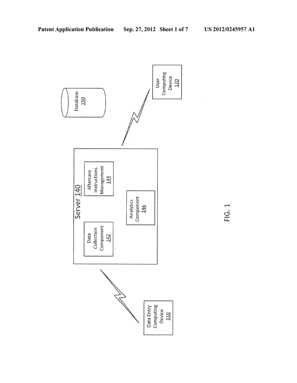 METHOD AND APPARATUS FOR PROVIDING ELECTRONIC AFTERCARE INSTRUCTIONS - diagram, schematic, and image 02