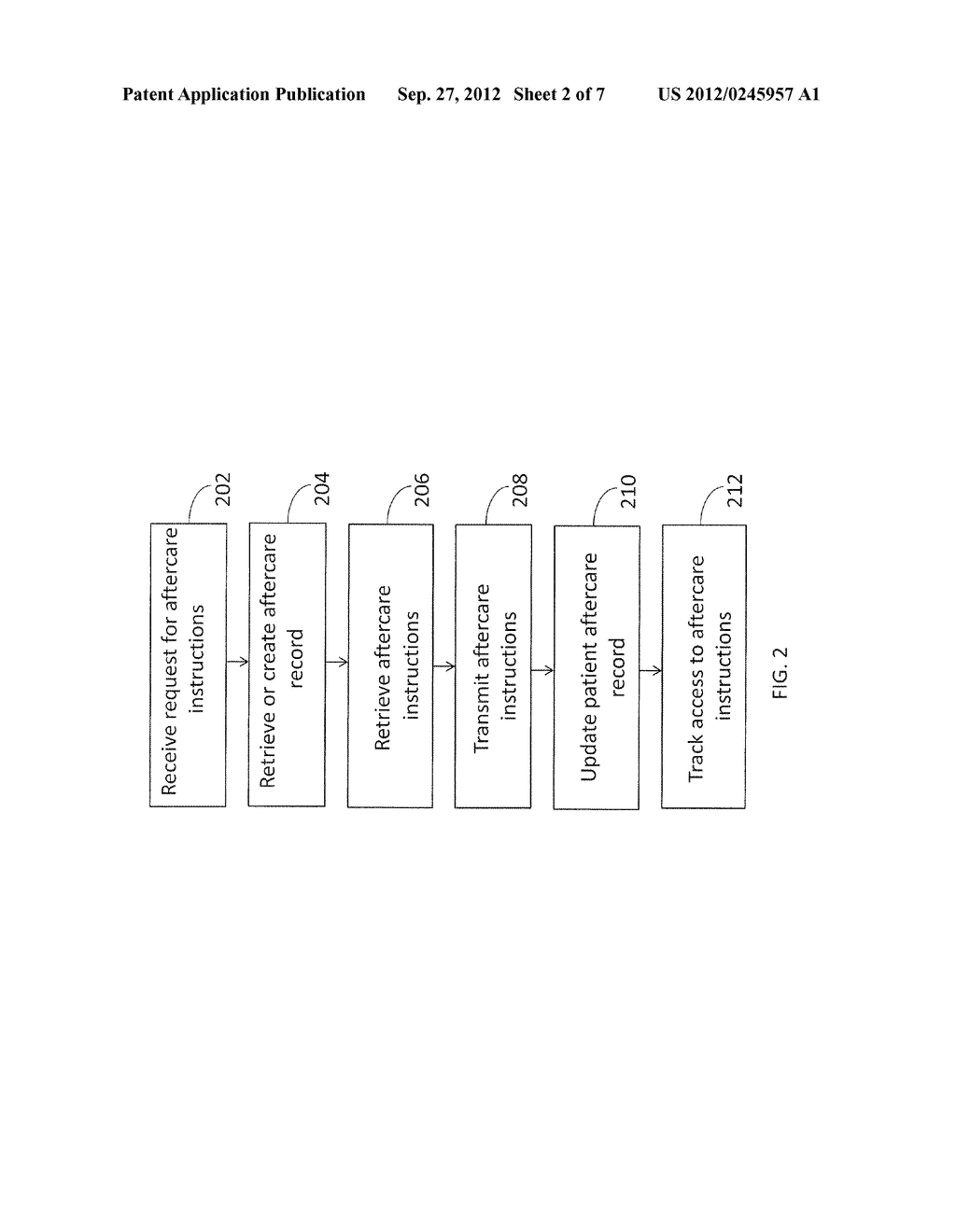 METHOD AND APPARATUS FOR PROVIDING ELECTRONIC AFTERCARE INSTRUCTIONS - diagram, schematic, and image 03