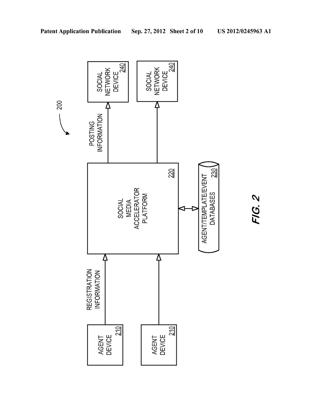 SYSTEM AND METHOD FOR DISTRIBUTING INSURANCE SOCIAL MEDIA RELATED     INFORMATION - diagram, schematic, and image 03