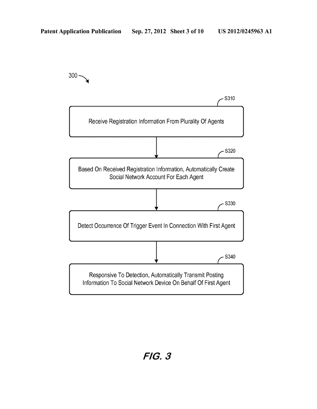 SYSTEM AND METHOD FOR DISTRIBUTING INSURANCE SOCIAL MEDIA RELATED     INFORMATION - diagram, schematic, and image 04