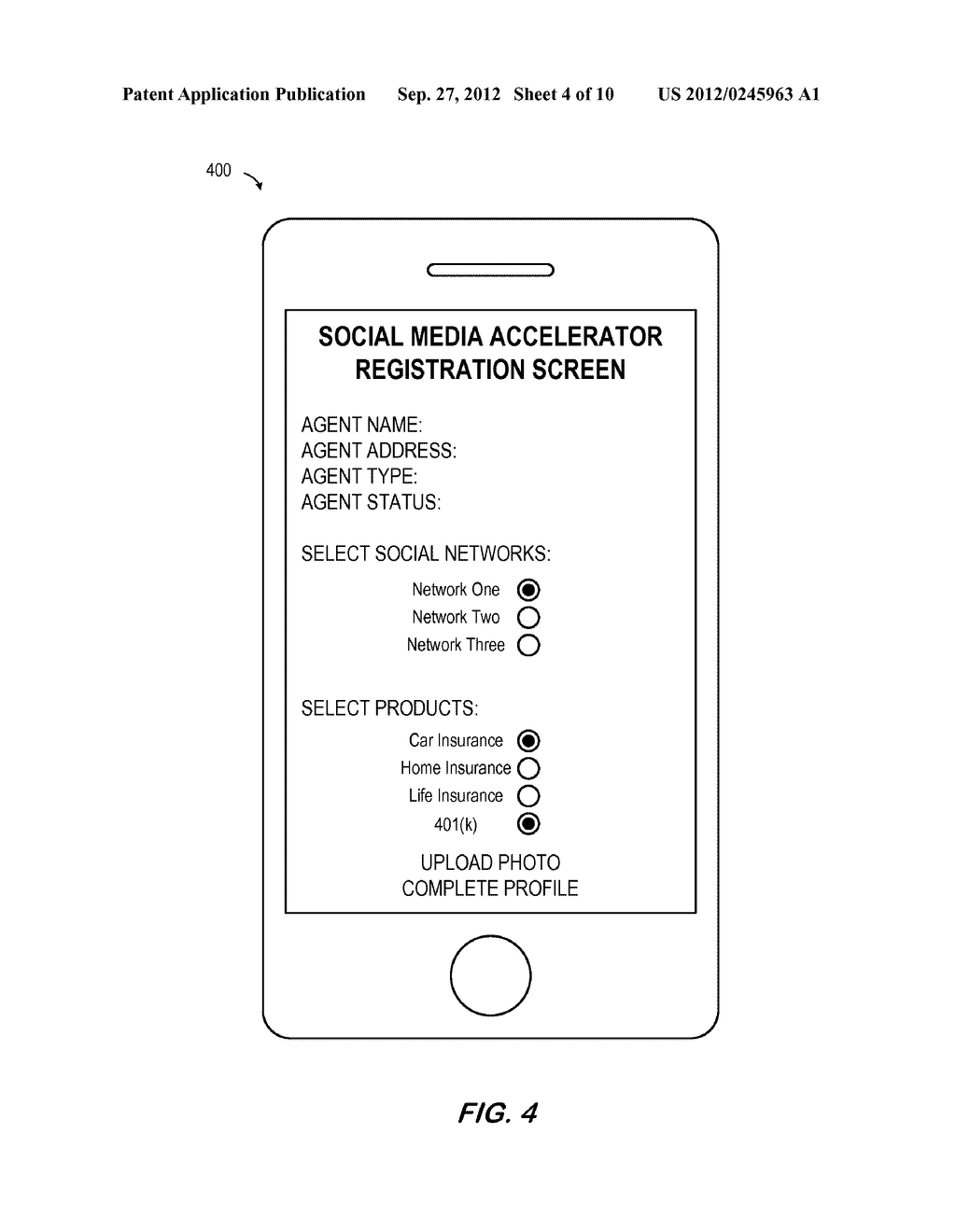 SYSTEM AND METHOD FOR DISTRIBUTING INSURANCE SOCIAL MEDIA RELATED     INFORMATION - diagram, schematic, and image 05