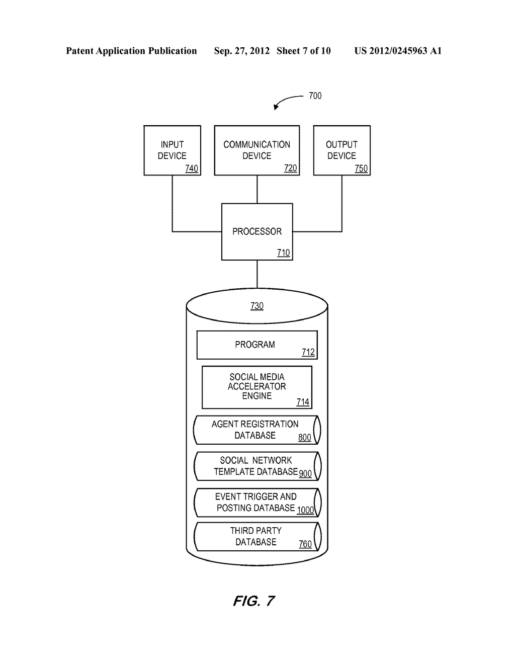 SYSTEM AND METHOD FOR DISTRIBUTING INSURANCE SOCIAL MEDIA RELATED     INFORMATION - diagram, schematic, and image 08