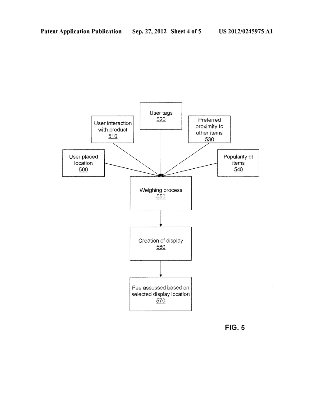 System and Method for Researching Virtual Markets and Optimizing Product     Placements and Displays - diagram, schematic, and image 05