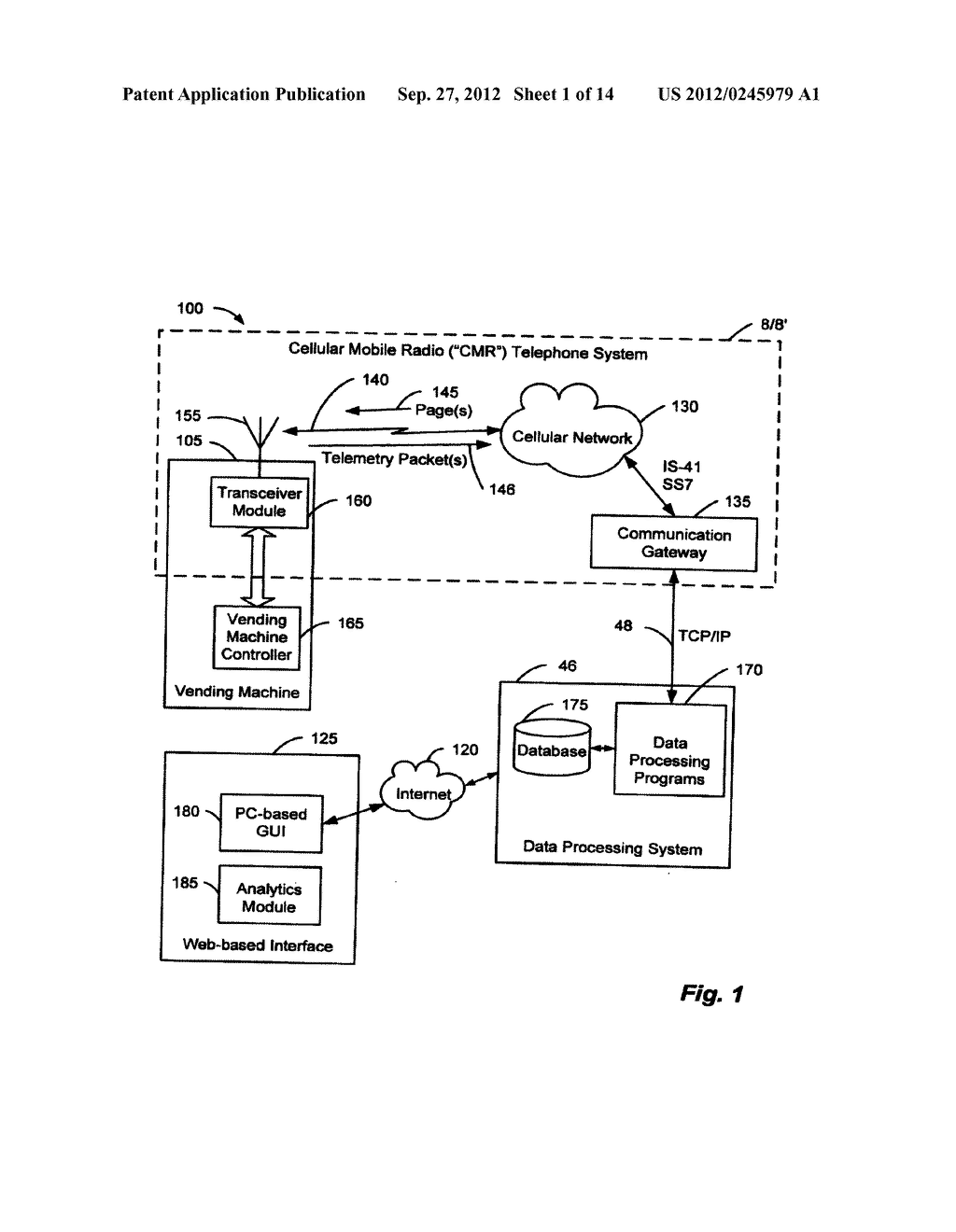 Method and System for Managing Vending Operations Based on Wireless Data - diagram, schematic, and image 02