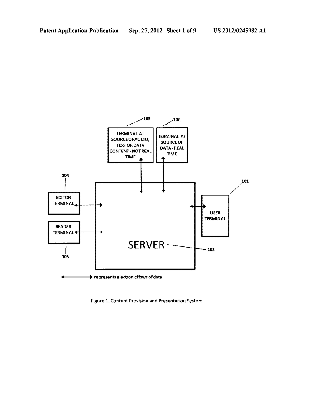 Method and System of Providing and Presenting Content to a User - diagram, schematic, and image 02