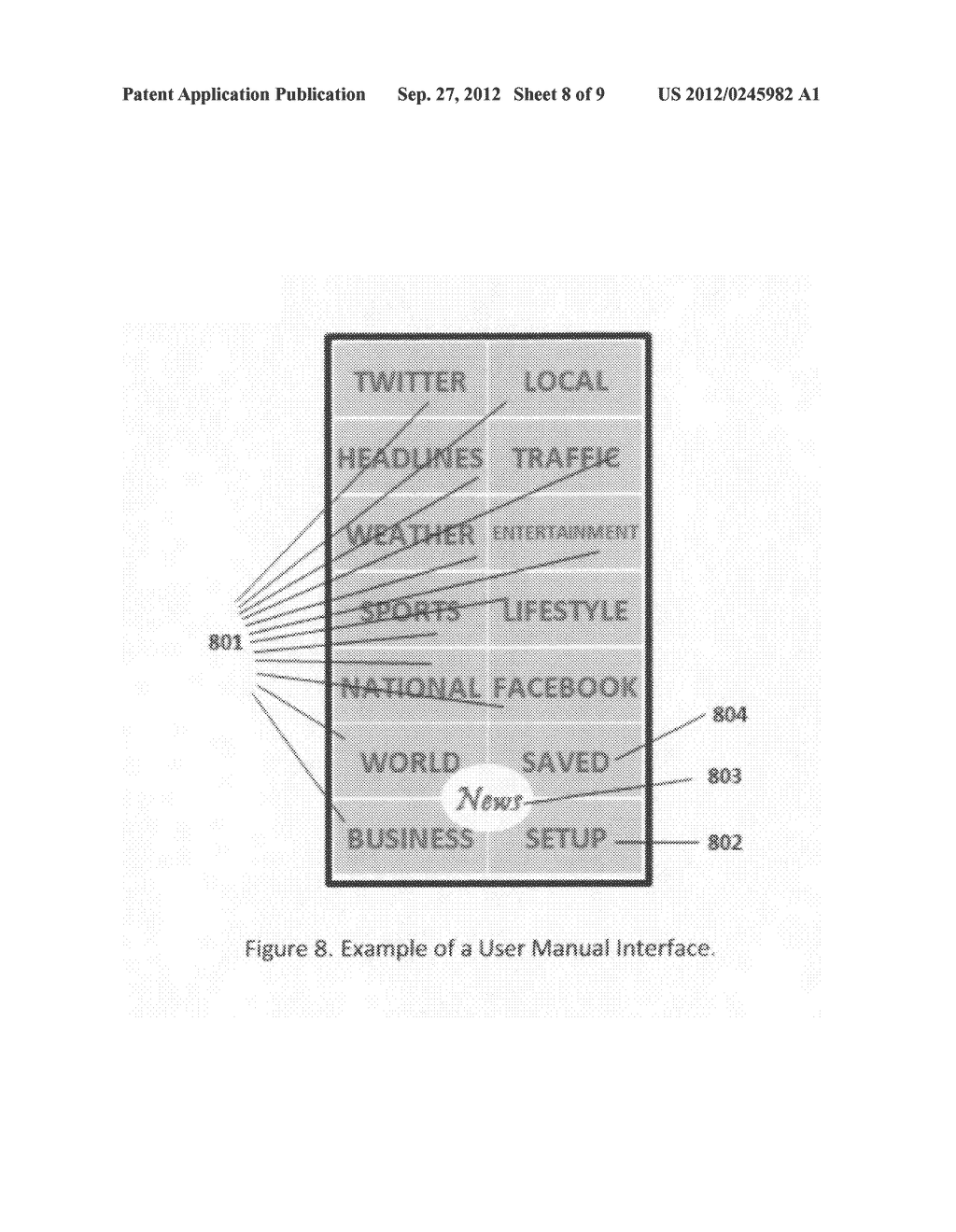 Method and System of Providing and Presenting Content to a User - diagram, schematic, and image 09