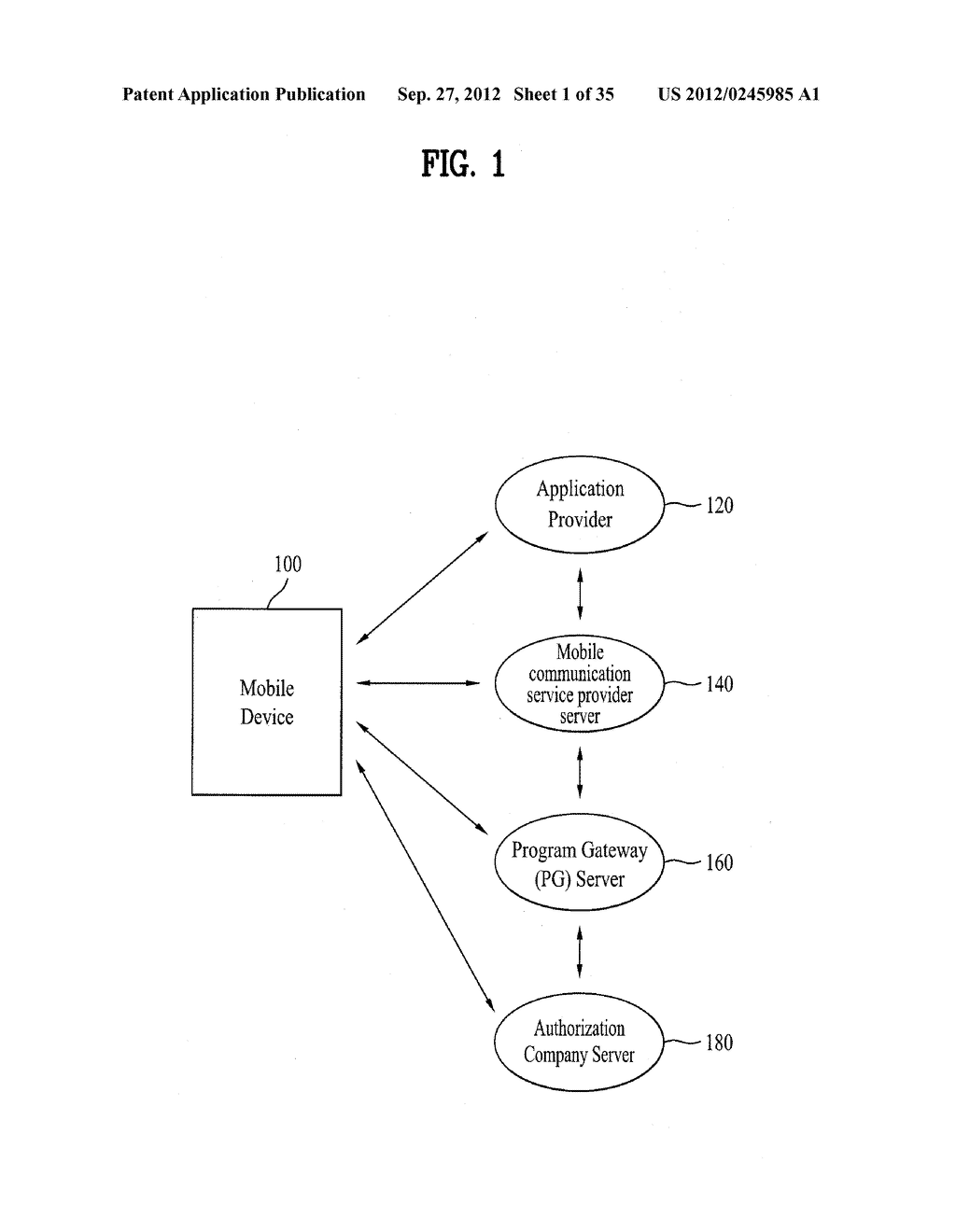 METHOD OF CONTROLLING SYSTEM AND MOBILE DEVICE FOR PROCESSING PAYMENT AND     DATA - diagram, schematic, and image 02