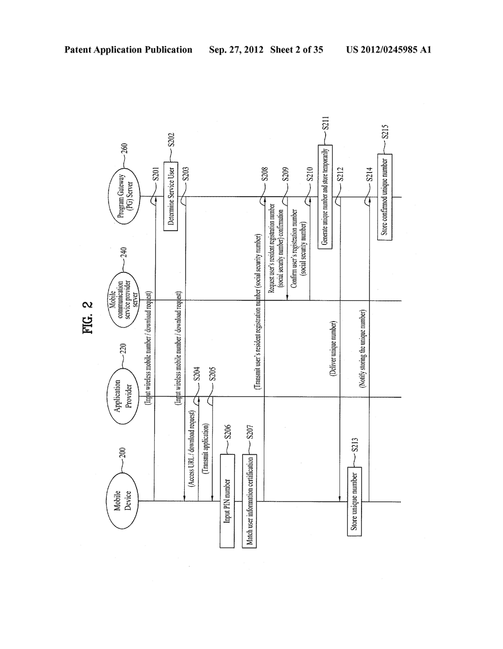 METHOD OF CONTROLLING SYSTEM AND MOBILE DEVICE FOR PROCESSING PAYMENT AND     DATA - diagram, schematic, and image 03