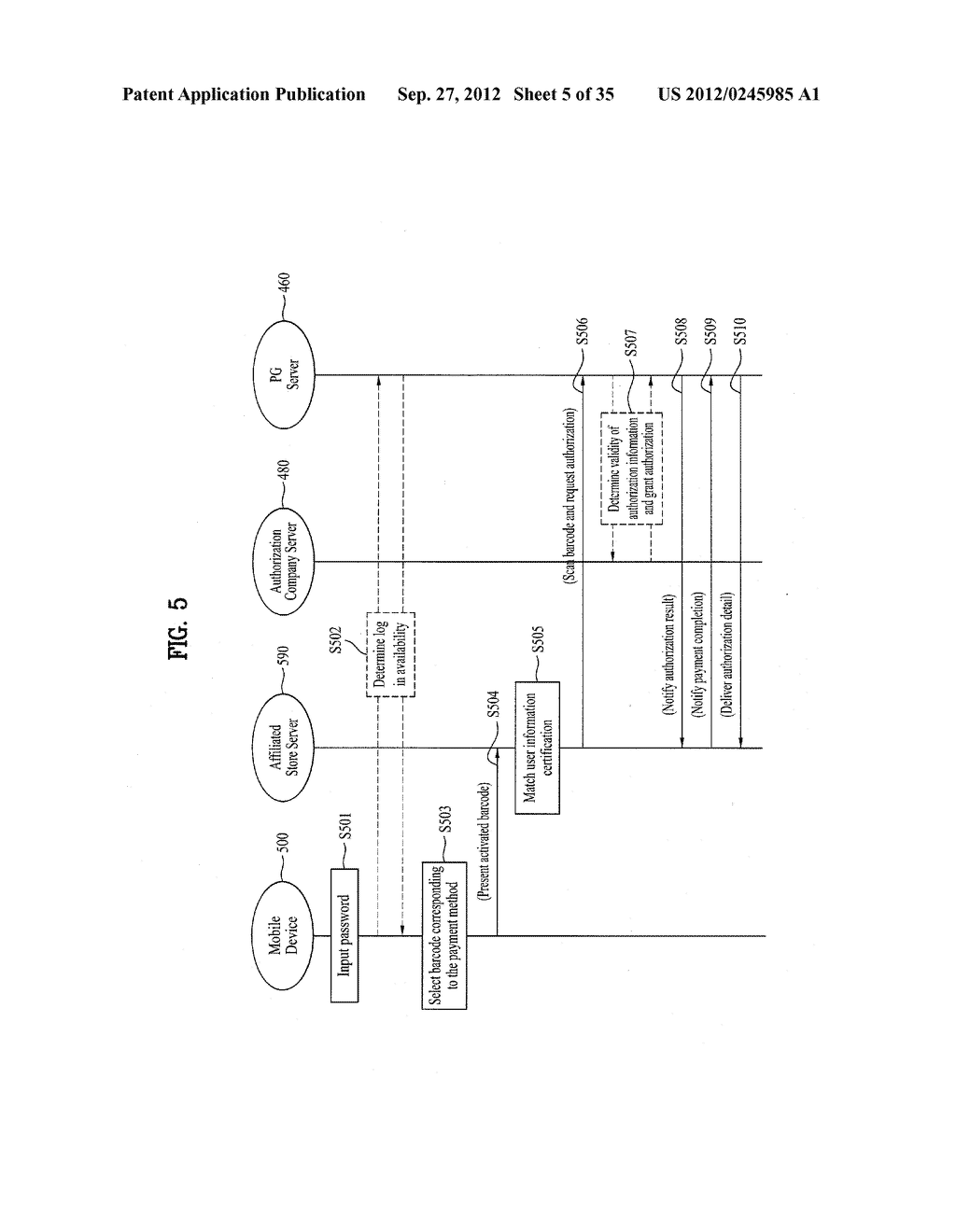 METHOD OF CONTROLLING SYSTEM AND MOBILE DEVICE FOR PROCESSING PAYMENT AND     DATA - diagram, schematic, and image 06