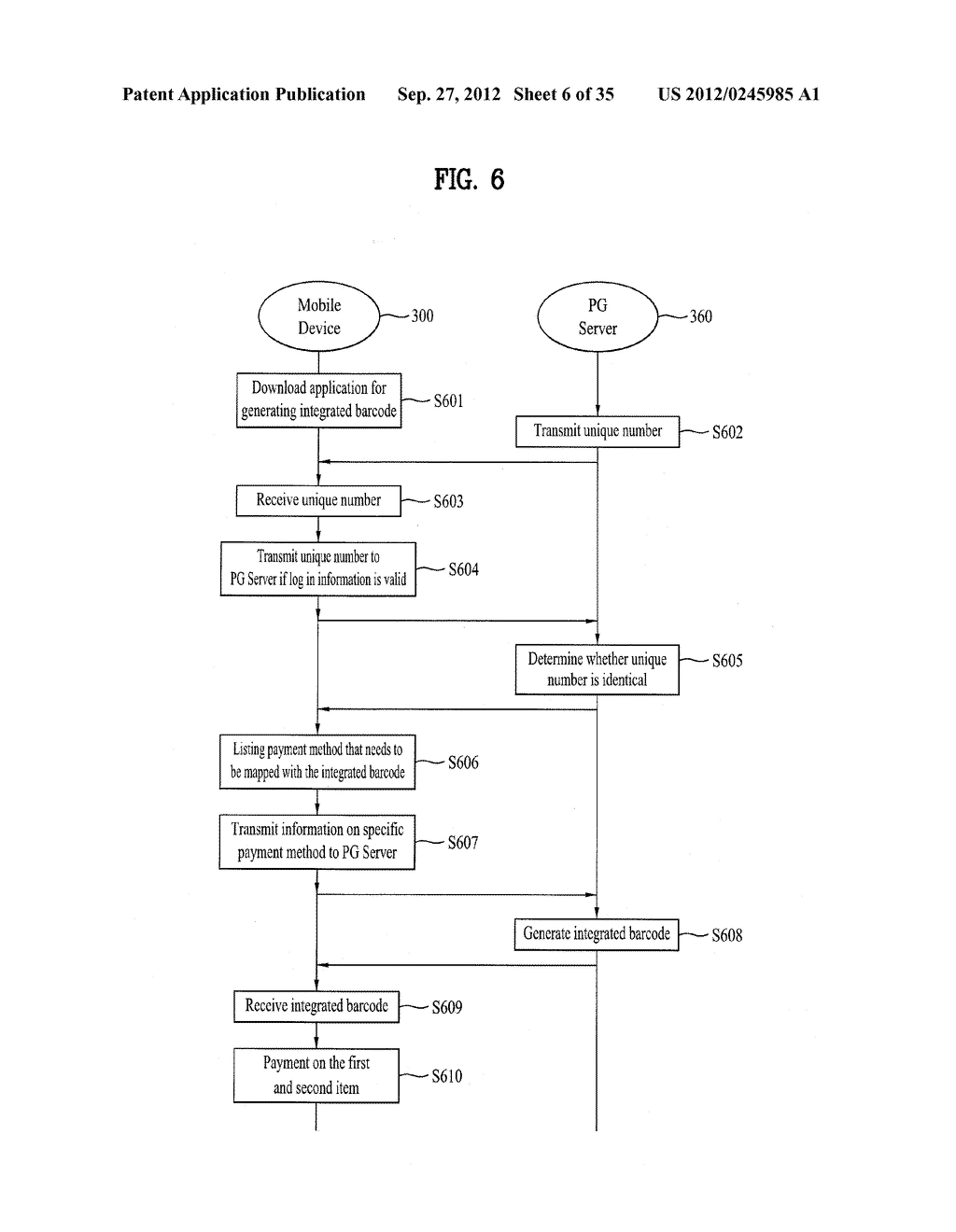 METHOD OF CONTROLLING SYSTEM AND MOBILE DEVICE FOR PROCESSING PAYMENT AND     DATA - diagram, schematic, and image 07