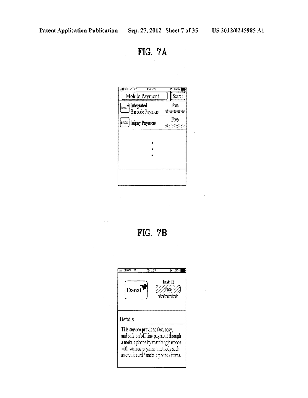 METHOD OF CONTROLLING SYSTEM AND MOBILE DEVICE FOR PROCESSING PAYMENT AND     DATA - diagram, schematic, and image 08