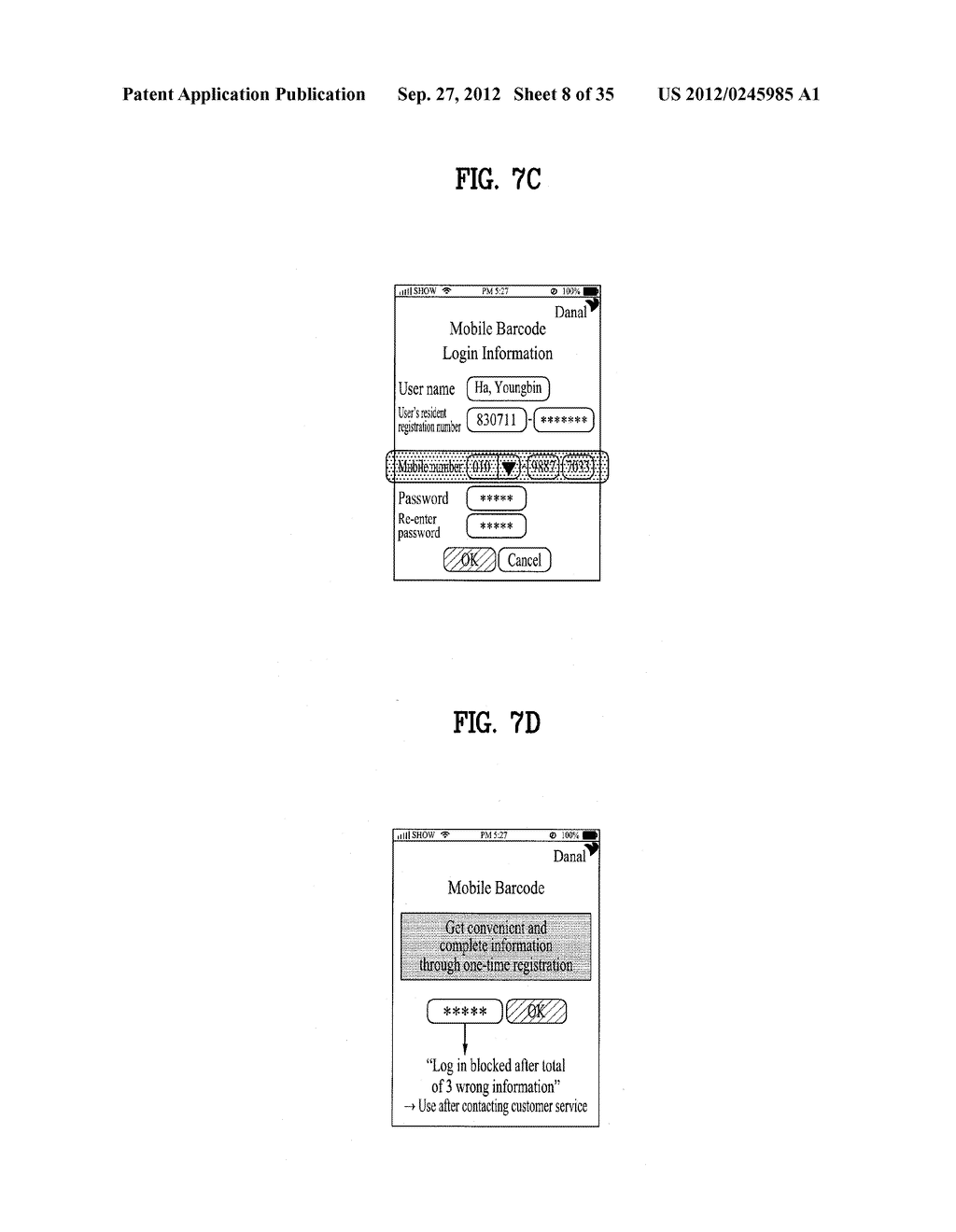 METHOD OF CONTROLLING SYSTEM AND MOBILE DEVICE FOR PROCESSING PAYMENT AND     DATA - diagram, schematic, and image 09