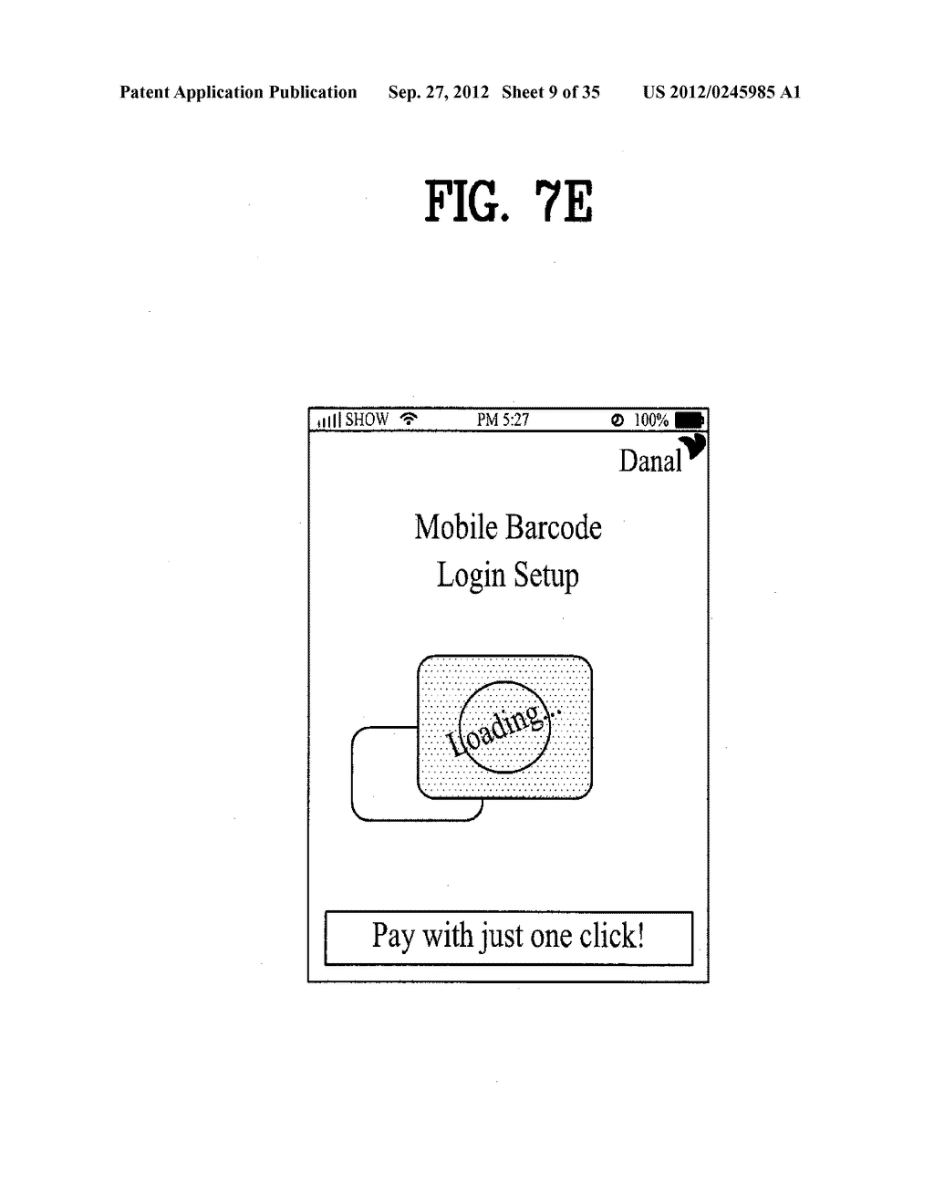 METHOD OF CONTROLLING SYSTEM AND MOBILE DEVICE FOR PROCESSING PAYMENT AND     DATA - diagram, schematic, and image 10